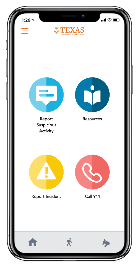 example of livesafe app on iphone
