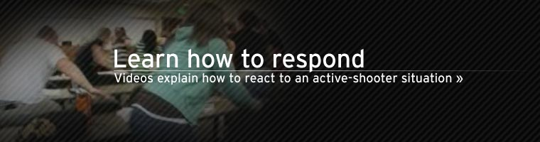 videos explain how to react to an active-shooter
